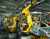 Car production line — Photo