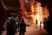 Antelope canyon — Stock Photo