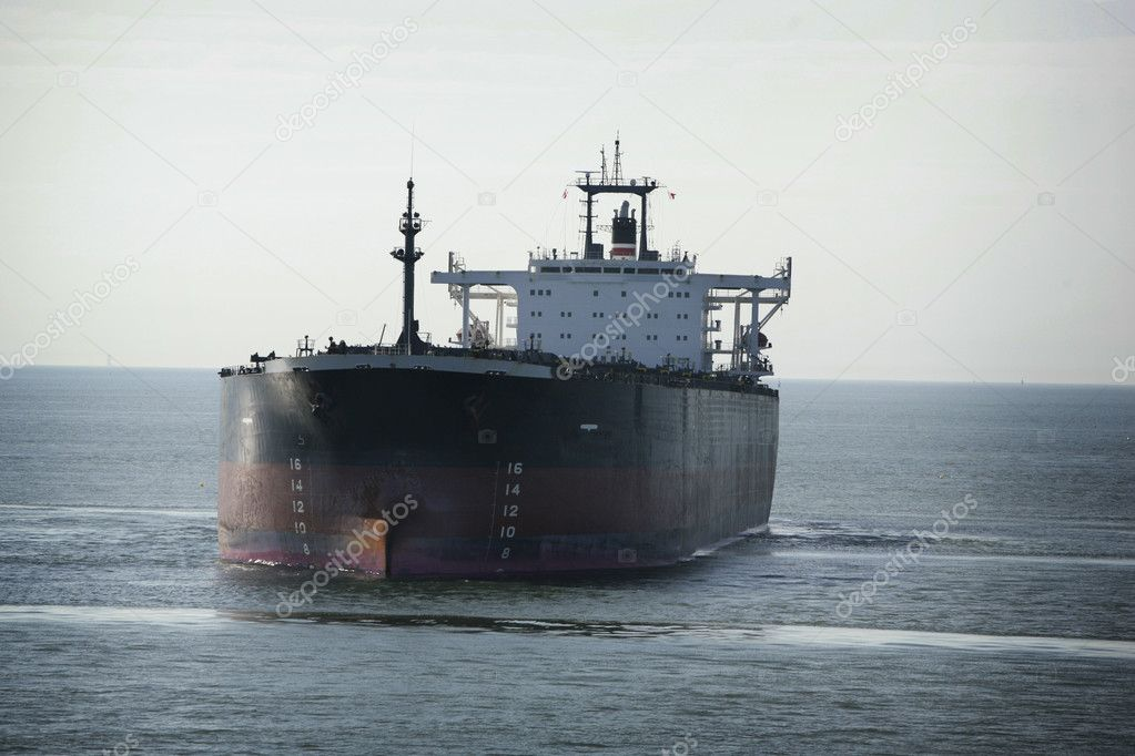 Oil tanker at the ocean  Stock Photo #4469769