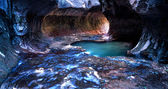 The Subway in Zion National Park — Stock Photo