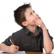 Young boy learning — Stock Photo #4948688