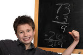 Doing the math — Stock Photo