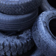 Recycle tires — Stock Photo