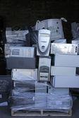 Recyling computer — Stockfoto