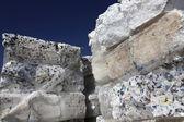 Recyklaci polystyrenu — Stock fotografie