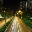 Royalty-Free Stock Photo: Road and traffic in downtown area of Hong Kong