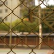 Royalty-Free Stock Photo: Basketball court in abstract view