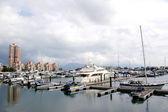 Yacht pier in Hong Kong — Stock Photo