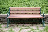 Cadeira na zona rural — Foto Stock