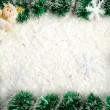 Foto de Stock  : Christmas border