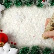 Christmas border — Stock Photo #4468372