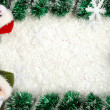 christmas border — Stockfoto