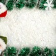 Foto Stock: Christmas border