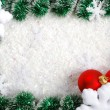 Christmas border — Stock Photo #4468402