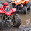 Junior quad bikes — Stock Photo