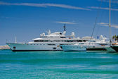 Luxury yachts in Spain — Stock Photo