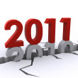 New year 2011 — Stock Photo #4498284