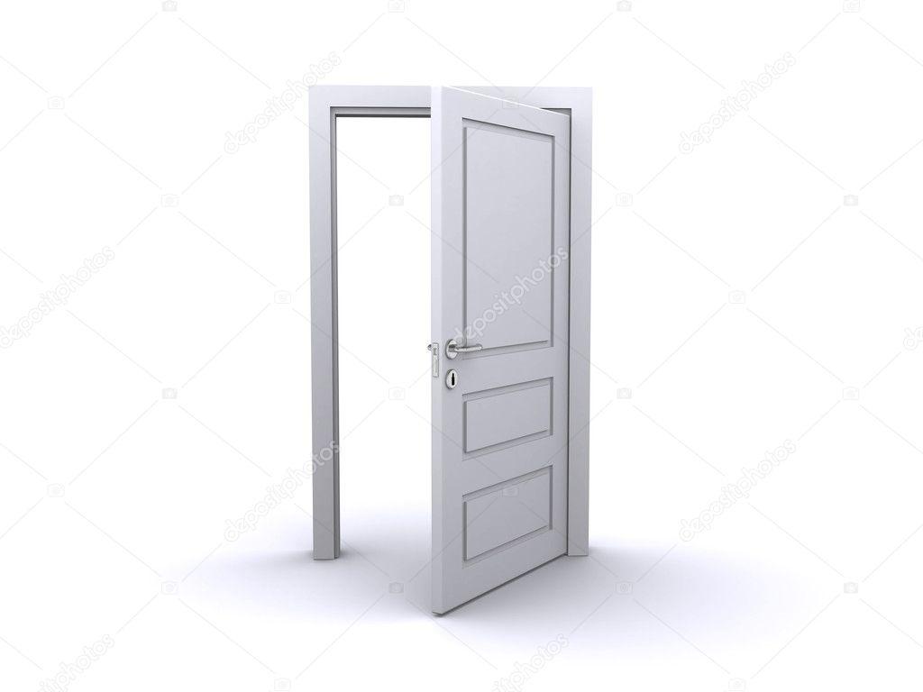 Open Photho : Open door — Stock Photo © devke #4546008