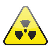 Radioactive sign — Stock Vector
