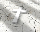 White cross — Stock Photo