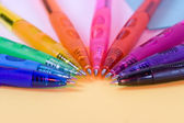 Olor pens - closeup — Stock Photo