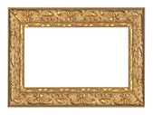 Golden frame with ornament — Stock Photo