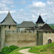 The Khotyn Fortress — Stock Photo #4692286