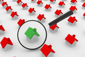 House Search — Stock Photo