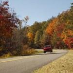 natursköna hösten enhet — Stockfoto