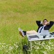 Business outdoor — Stock Photo
