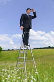 Manager outdoor — Stock Photo