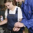 Female auto mechanic — Stock Photo #5029772