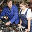 Female auto mechanic — Stock Photo #5030643