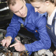 Female auto mechanic — Stock Photo #5030785