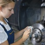 Female car mechanic — Stock Photo #5031108