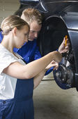 Car repair — Stock Photo
