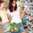 Stock Photo: Shopping series - Brown hair young woman