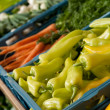 Grocery store shopping - Close-up of vegetable — Stock Photo #4684553