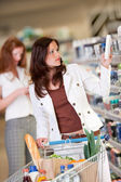 Shopping series - Young woman — Stock Photo
