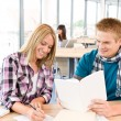 Back to school - happy students — Stock Photo #4692220