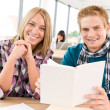 Back to school - happy students — Stock Photo #4692221