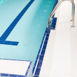 Stock Photo: Aqupark - swimming pool with stairs