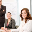 Business meeting - group of in office — Stock Photo