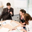 Business meeting - group of in office — Stockfoto #4694514