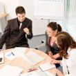 Business meeting - group of in office — 图库照片 #4694514