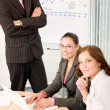 Business meeting - group of in office — Stock Photo #4694515