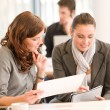 Business meeting - group of in office — Stock Photo #4694539
