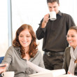 Business meeting - group of in office — Stok fotoğraf