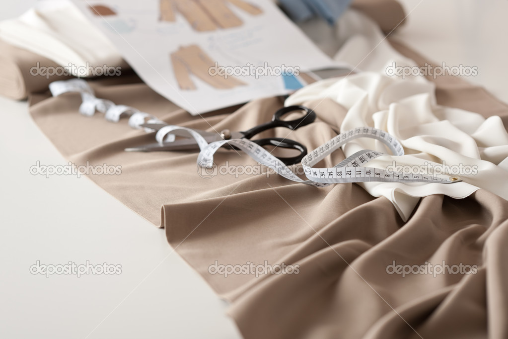 Fashion Designer Studio With Professional Equipment Stock Photo Candyboximages 4698727
