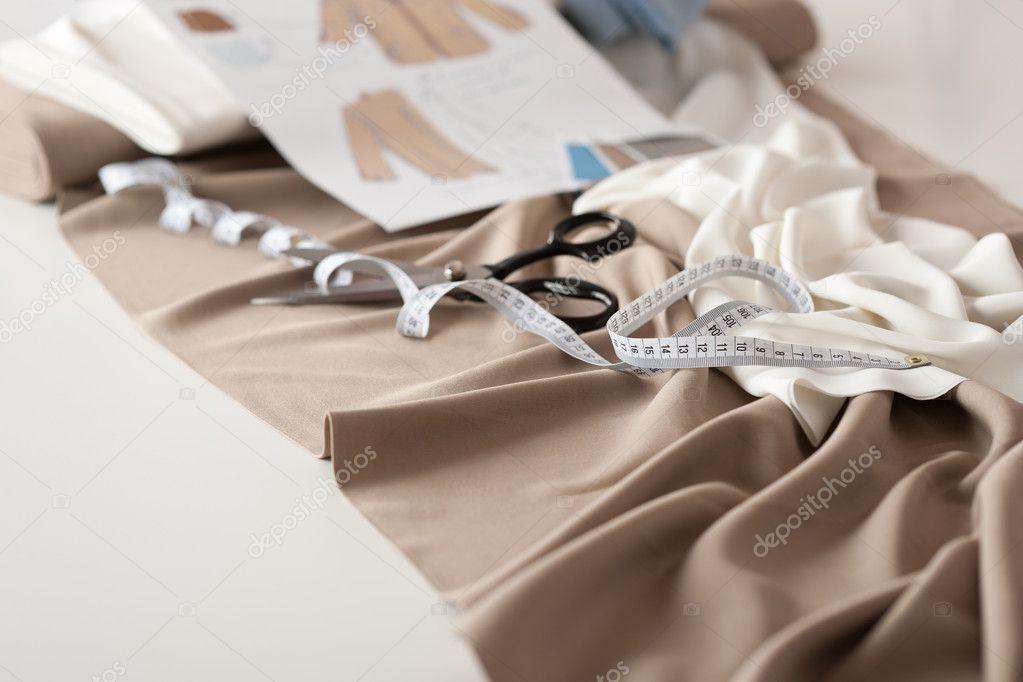 Fashion Designer Studio With Professional Equipment Stock Photo Candyboximages 4698727